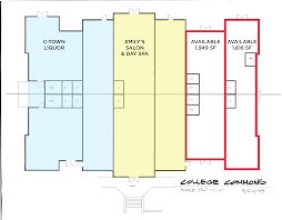 Easton Commons Floor Plans by Chestertown Md College Commons Retail Space For Lease Klnb Retail