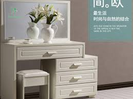 White Vanity Set For Bedroom Vanity Table Without Mirror Makeup Vanity Table With Lighted