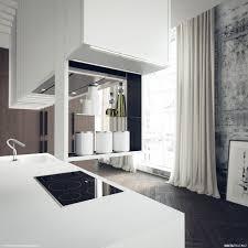 traditional white kitchen design 3d rendering nick 35 best render images on pinterest milan design kitchen interior
