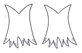 turkey foot template eliolera com