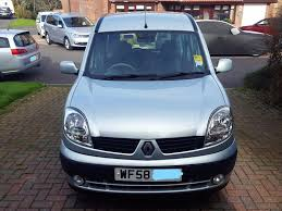 renault kangoo 2006 renault kangoo express 1 6 auto fitted with 4 way wheelchair