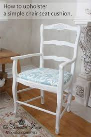 upholstering chairs from fabric to finish diy home pinterest