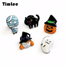halloween pins popular ghost cat buy cheap ghost cat lots from china ghost cat
