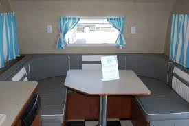 Used Riverside Rv WHITE WATER RETRO B USHAPE DINETTE - Water bunk beds