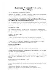business proposal templates examples free simple plan s cmerge