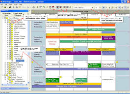 Production Schedule Template Excel Free Reel Production Calendar Software By Reel Logix Software