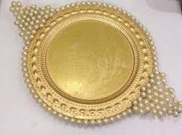metal platters diwali platters manufacturer from delhi