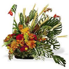 thanksgiving fresh flower turkey centerpiece