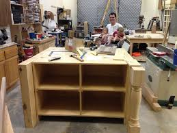 Make A Kitchen Island The Howard Bunch Building Our House A Kitchen Island