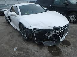 damaged audi for sale auto auction ended on vin wuaanafg3bn000521 2011 audi r8 5 2 qua