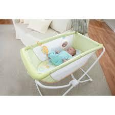 mattress for portable crib fisher price rock u0027n play portable bassinet green walmart com