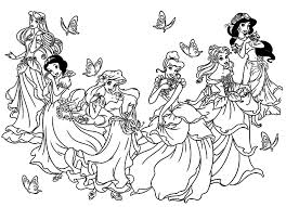 princesse disney coloring pages for adults justcolor