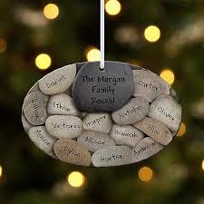 our family rocks ornament ideas