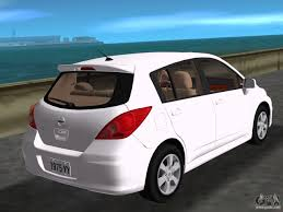 nissan tiida black nissan tiida for gta vice city