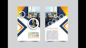 graphic design templates for flyers coreldraw x7 tutorial modern flyers brochure design templates with