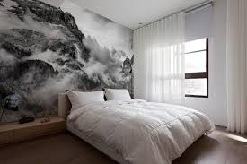 Cool Wall Decals by Bedroom Decor Beautiful Landscape Wallpaper Blue Mountain