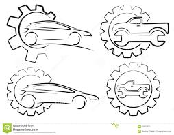 car service logo logo car service stock vector image 63872971