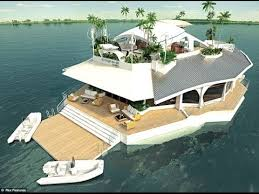 Floating Houses Floating Islands Floating House Luxury Real Estate Yachting