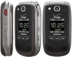 Rugged Phone Verizon Samsung Convoy 2 Bluetooth Ptt Gps Rugged Phone Verizon Mint