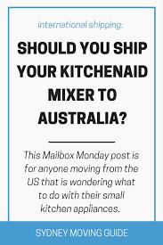 Online Kitchen Appliances Australia Should You Ship Your Kitchenaid Mixer To Australia From The Us