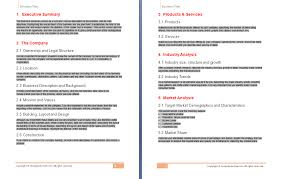 Business Template Plan by Free Business Plan Template Free Business Template