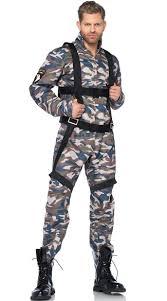 Male Halloween Costumes Military Combat Stud Costume Mens Army Costumes Mens Marine