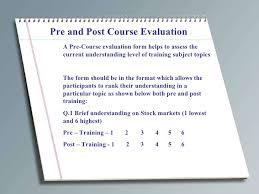 sample instructor evaluation form 8 instructor evaluation form