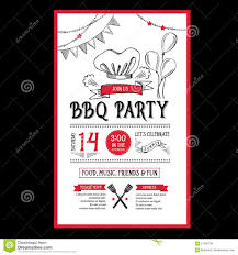 party invitation flyer template