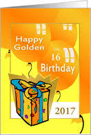 age specific golden birthday cards from greeting card universe