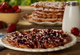 brown sugar and cinnamon funnel cakes recipe