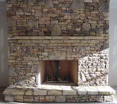 Stacked Stone Around Fireplace by Stone Design Center In Atlanta Ga The Rock Yard