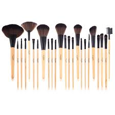 discount professional makeup the ellore femme 24 professional makeup brush set with
