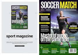 freelance layout majalah sport magazine by becreative graphicriver