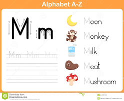 alphabet tracing worksheet writing a z illustration 44976139