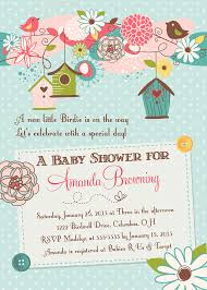 bird baby shower birds and bird houses baby shower invitation by partypopinvites