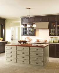 kitchens with different colored islands select your kitchen style martha stewart