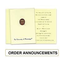 order graduation announcements of mississippi college rings and graduation