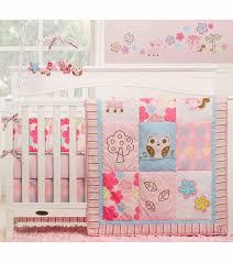graco woodland 4 piece crib bedding set by kidsline