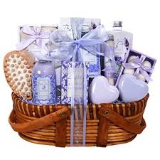 lavender gift basket buy lavender bath and gift basket for women featuring