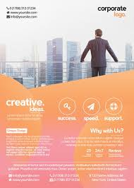 the best free corporate flyer psd flyer templates