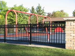 halloween cemetery fence ideas residential aluminum fence commercial aluminum fencing