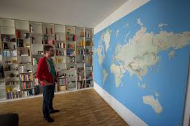 Self Adhesive World Map Decorating Image Collection Wall Size World Map All Can Download All Guide