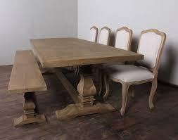 teak trestle dining table savaged wood furniture salvaged wood dining table shabby chic