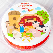 farm cake toppers cake toppers pets animals personalised farm animal
