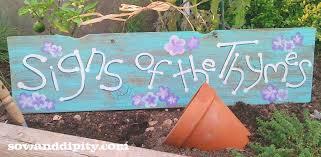 Garden Diy Crafts - diy garden signs and garden sign sayings