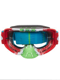 pink motocross goggles oakley pinned race red green clear o frame 2 0 mx goggle oakley