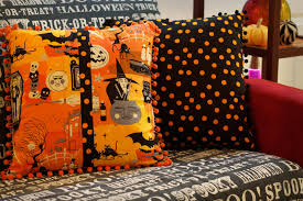 spooky halloween pillows