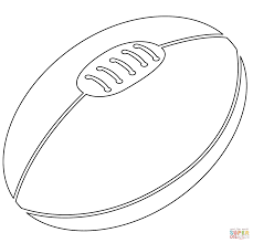 rugby ball coloring page free printable coloring pages