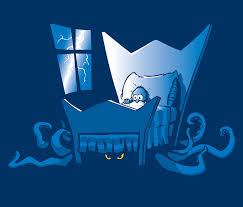 under the bed monster under the bed clipart clipartxtras