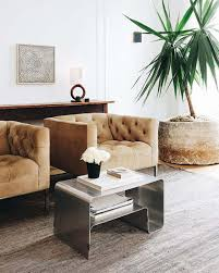 trending chrome furniture and decor emily henderson
